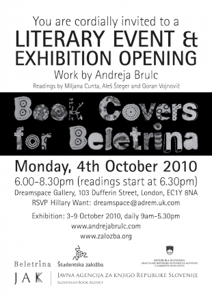 Book Covers for Beletrina Exhibition image